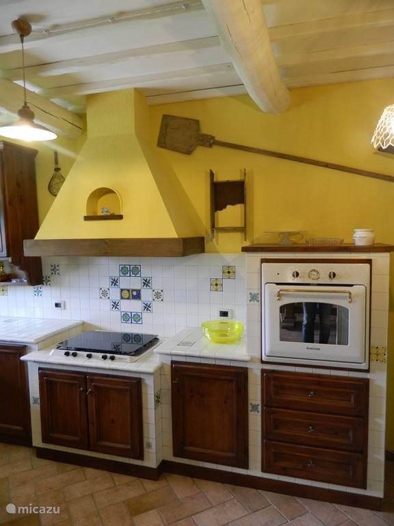 Nog een foto van de keuken.