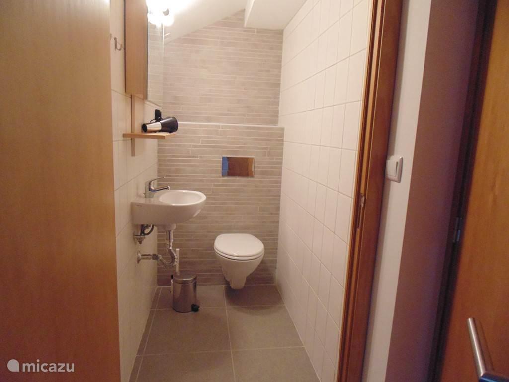 toilet op eerste verdieping