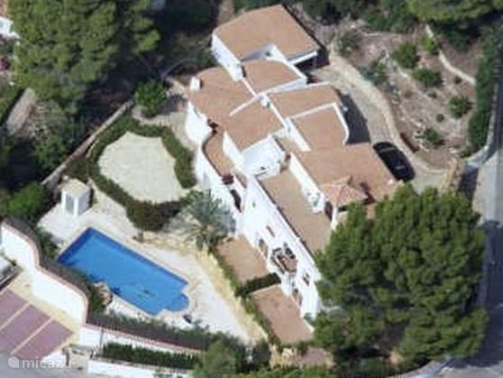 Vakantiehuis Spanje, Costa Blanca, Altea la Vieja appartement EL PARADISO