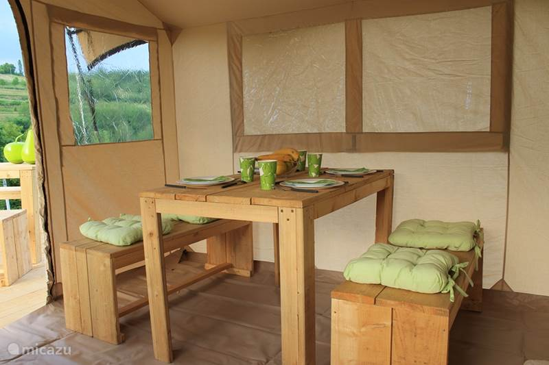 Vacation rental Croatia, Karlovac, Johi Glamping / Safari tent / Yurt Johi