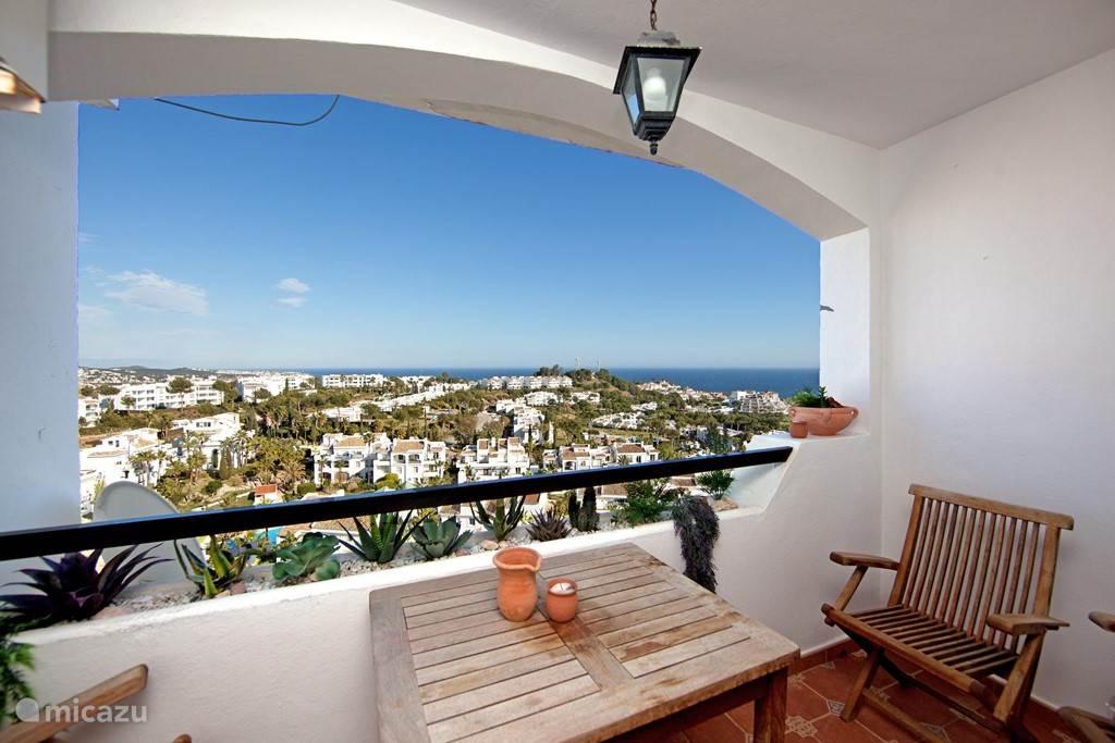Vakantiehuis Spanje, Costa del Sol, Mijas Costa - appartement Appartement met zeezicht Mijas Costa