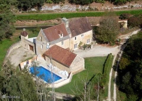 Vacation rental France, Dordogne, Sarlat-la-Canéda holiday house Moulin de la Borie