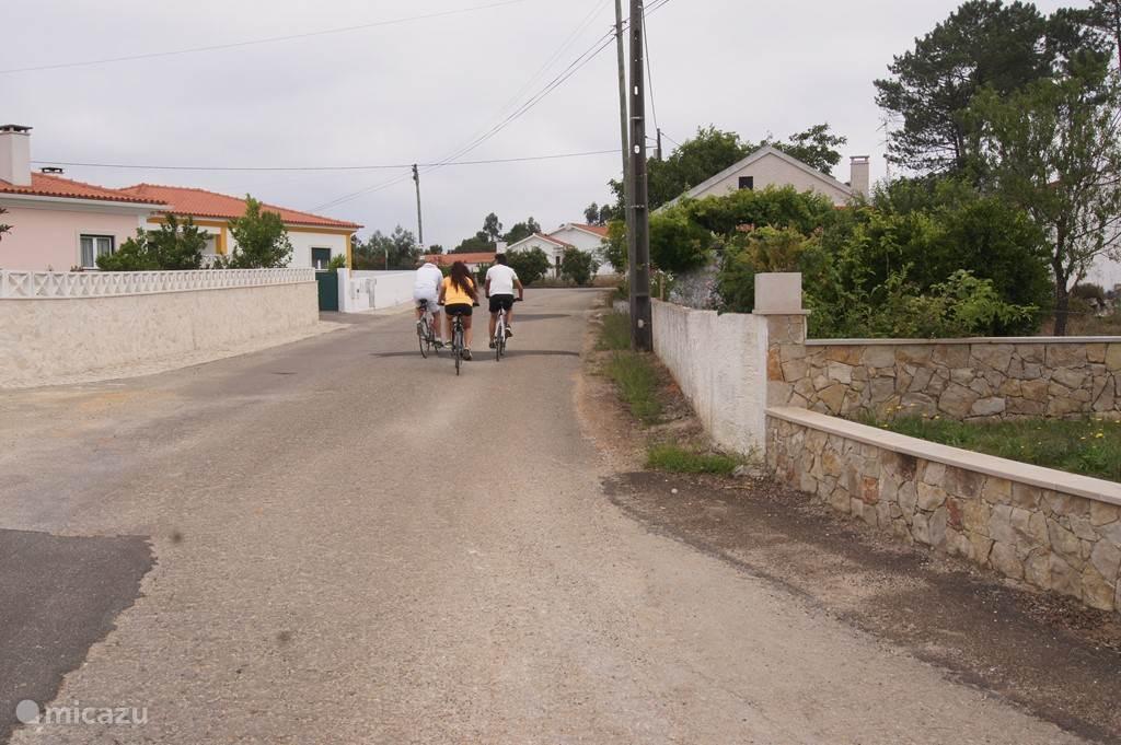 Lekker fietsen in de omgeving.