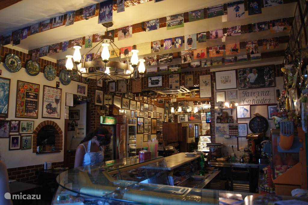 Gezellig café in Alcobaca