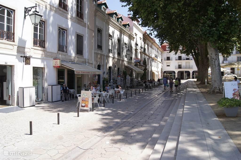 Gezellige terrasjes in Alcobaca