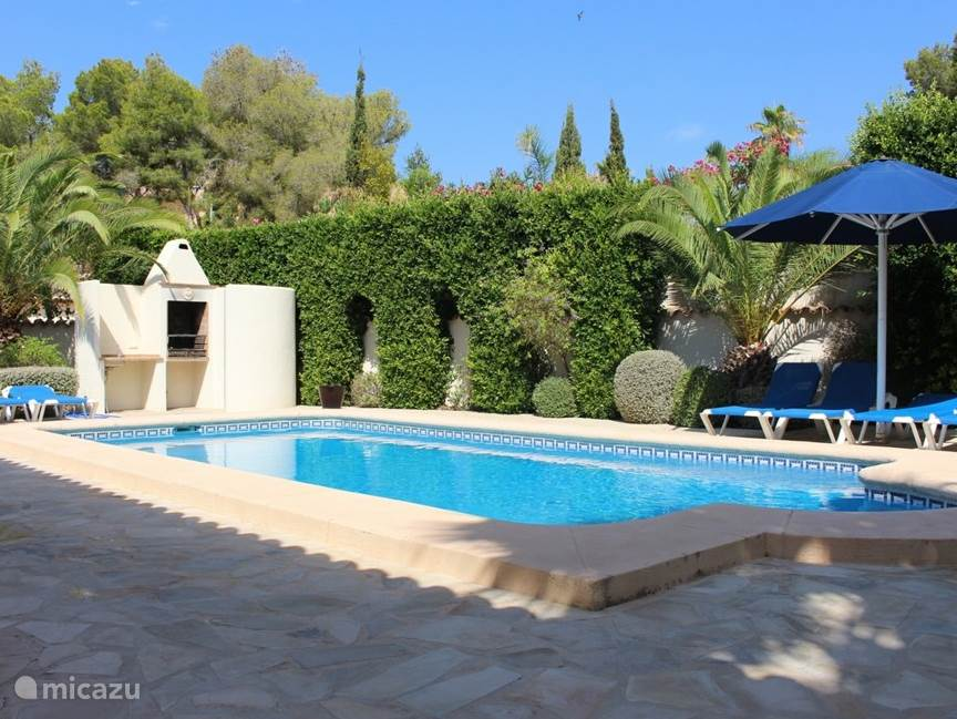 Vacation rental Spain, Costa Blanca, Moraira villa Villa I