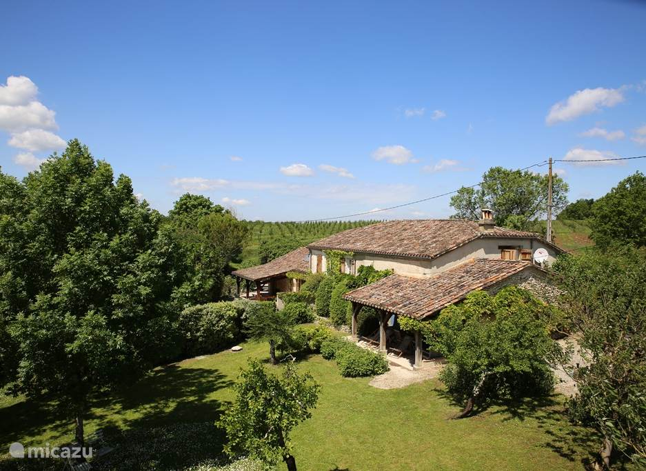 Vacation rental France, Aquitaine, Monflanquin (Lot-et-Garonne) holiday house Le Menuisier