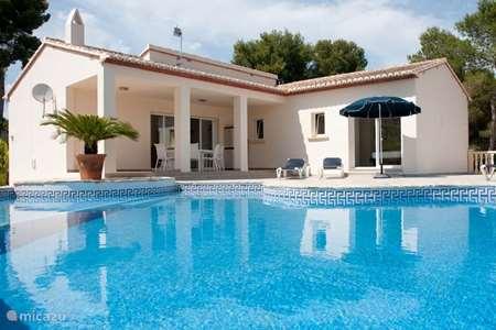 Vacation rental Spain, Costa Blanca, Moraira villa Villa II
