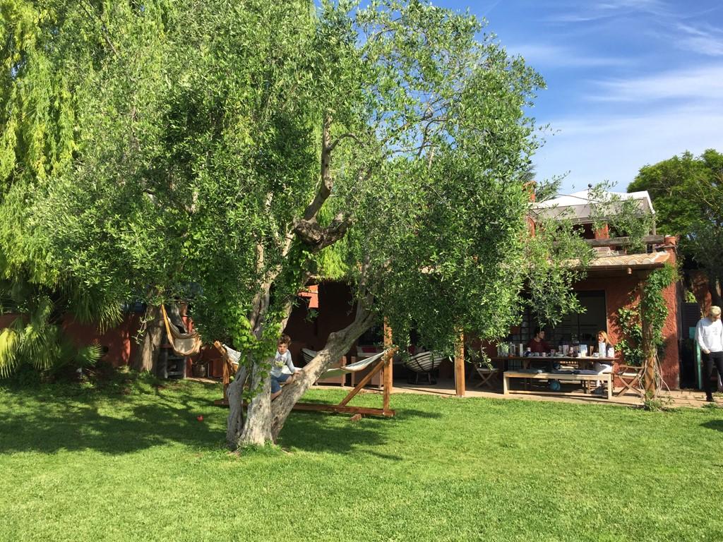 Geniet van het prachtige weer, goed eten, relaxen en cultuur opsnuiven in een Toscaanse stijl vila in de natuur op enkele km's van Rome.