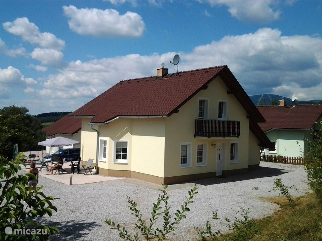 Vacation rental Czech Republic, Giant Mountains, Mladé Buky villa Vila Krokonose
