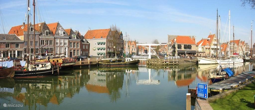 Oude haven van havenstad Hoorn. Leuk plaatsje om doorheen te wandelen of te shoppen.