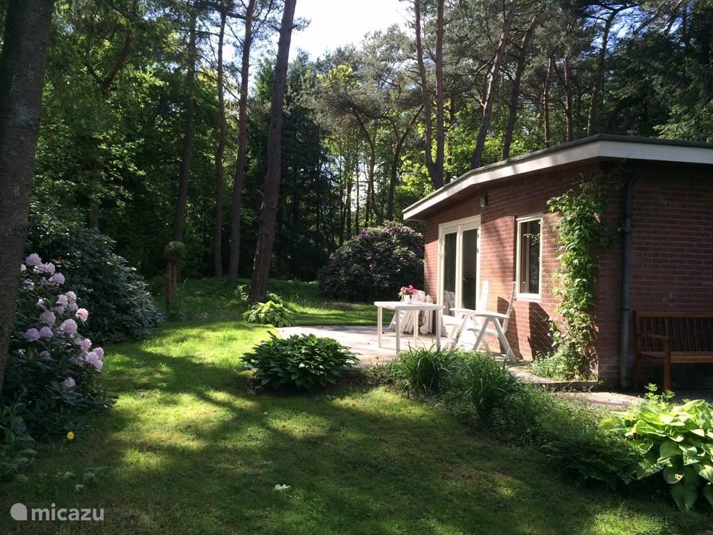 Speeltuin, Nederland, Gelderland, Beekbergen, bungalow Beekbergen