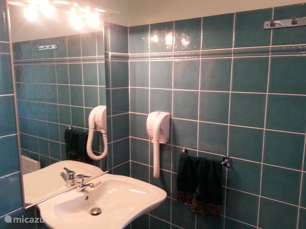 Voor rolstoel toegangelijke badkamer op de beganegrond
