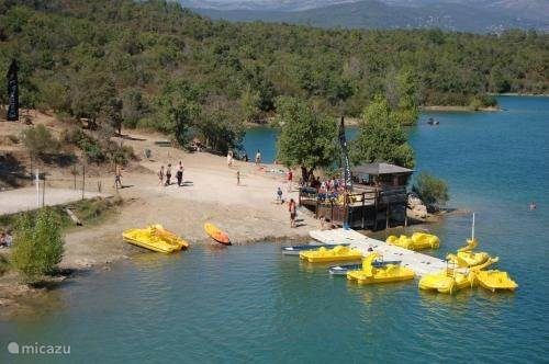 Watersport bij het St Cassien meer