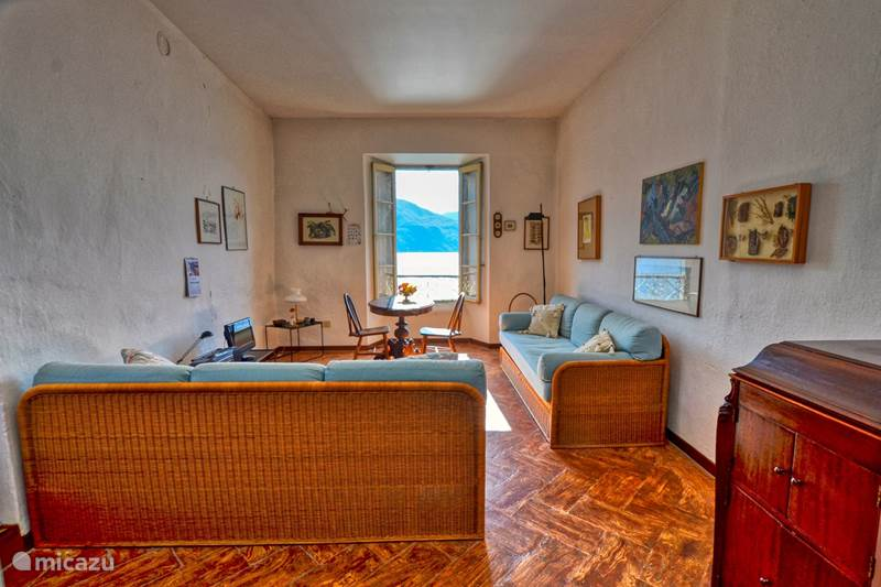 Vakantiehuis Italië, Comomeer, Rezzonico Appartement Acqua Vista