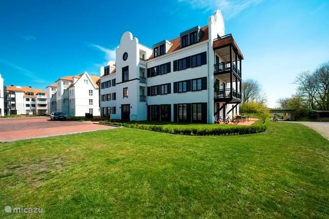 Vakantiehuis Nederland, Zeeland, Cadzand-Bad appartement Duinhof