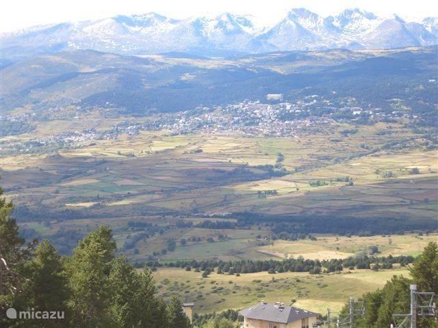 Het dorpje ligt in de vallei