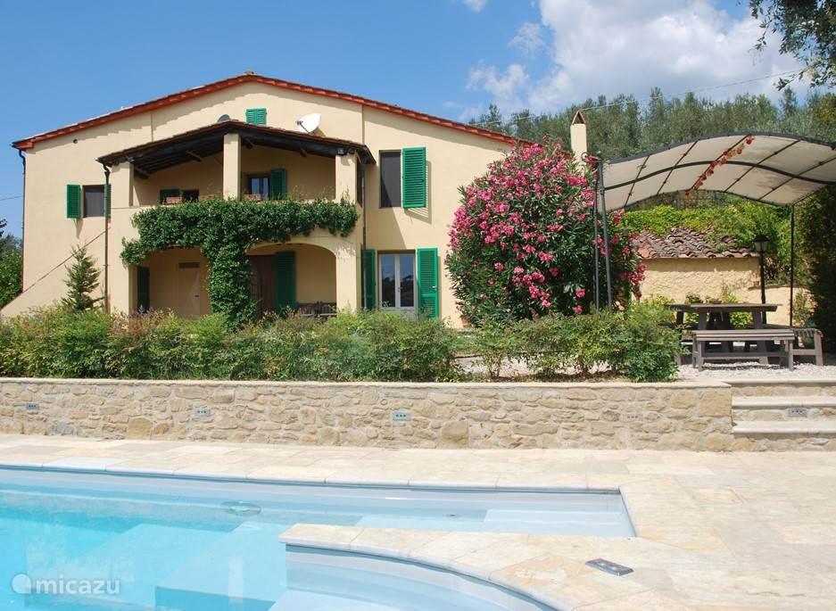 Vakantiehuis Italië, Toscane, Lamporecchio villa Villa Madonna Celeste