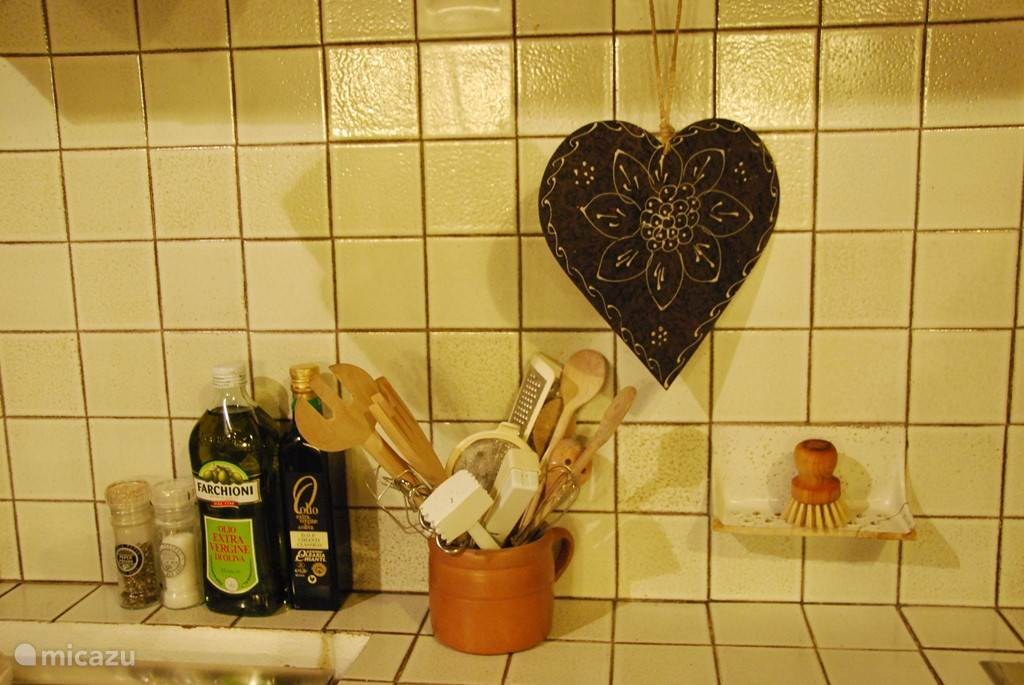 Detailfoto keuken