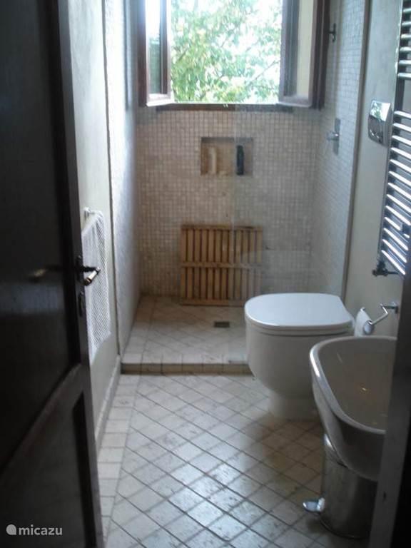 Badkamer 1e verdieping, met regendouche