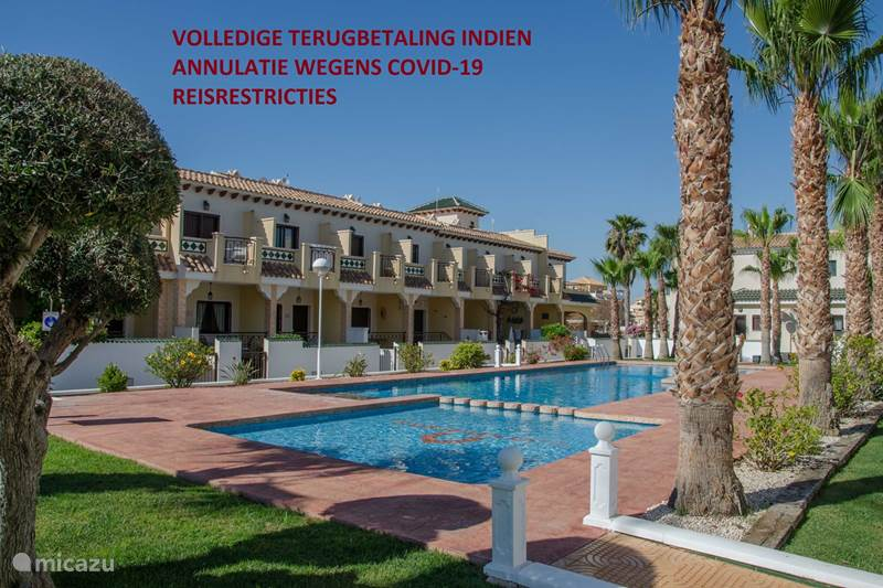 Vakantiehuis Spanje, Costa Blanca, Ciudad Quesada Vakantiehuis Casa Fortuna, Luxe huis, 2 verdiepen