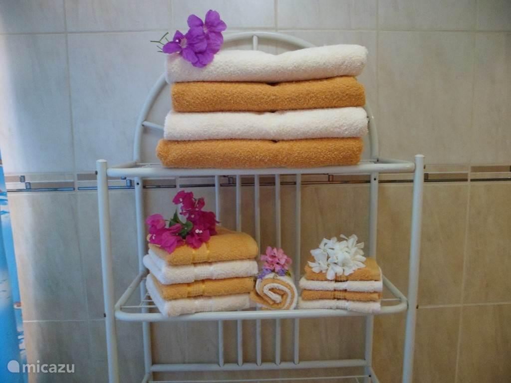 Lekker veel handdoeken