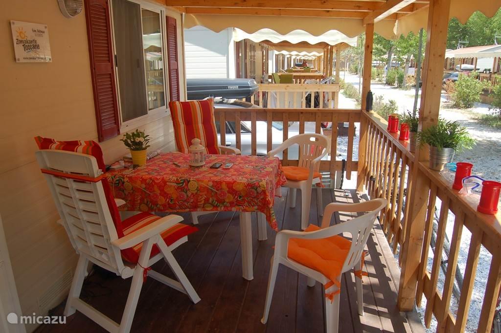 Vakantiehuis Italië, Toscane, Viareggio Stacaravan Mobil-Home in Viareggio