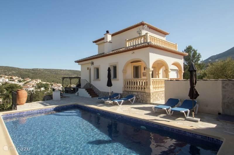 Vakantiehuis Spanje, Costa Blanca, Alcalali Villa Casa-Akoesha