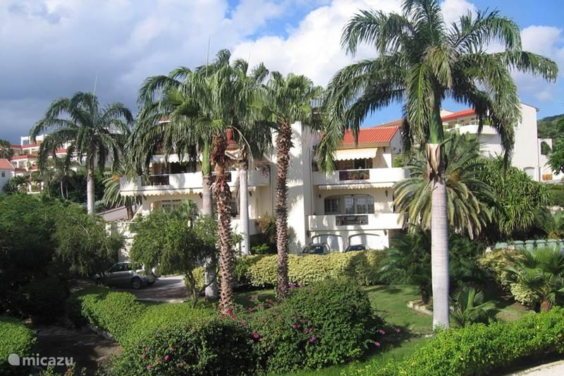 Vakantiehuis Curaçao, Curacao-Midden, Piscadera Appartement Dushipalm