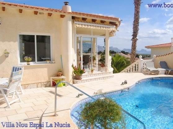 Vakantiehuis Spanje, Costa Blanca, La Nucia vakantiehuis Villa Nou Espai