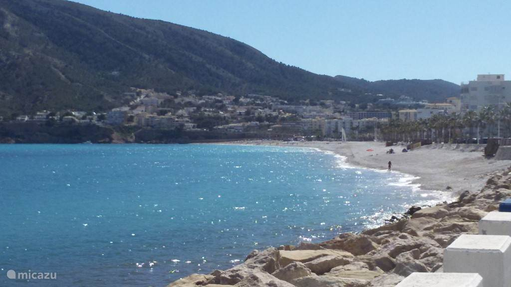 Strand in Albir