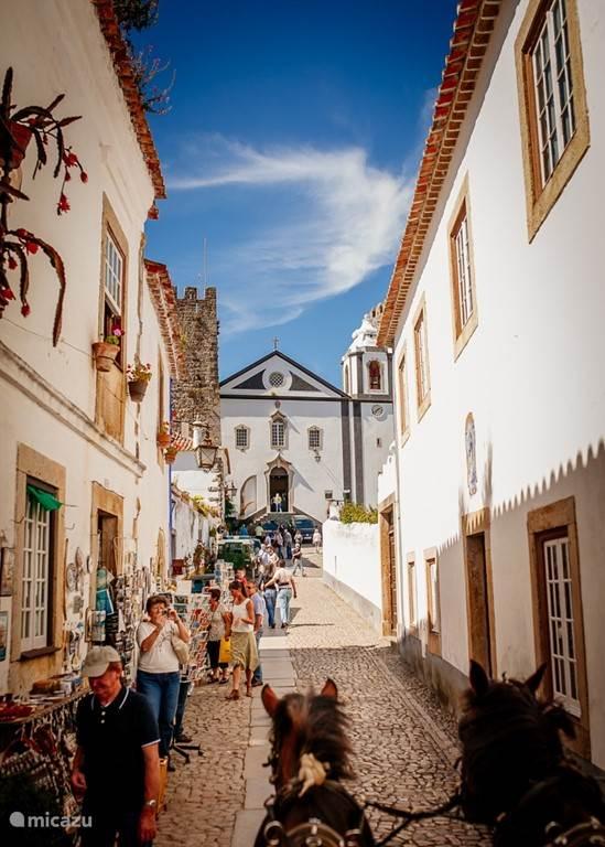 Obidos town