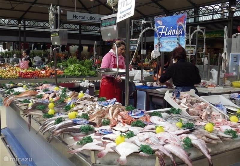 Nazare fresh fish market