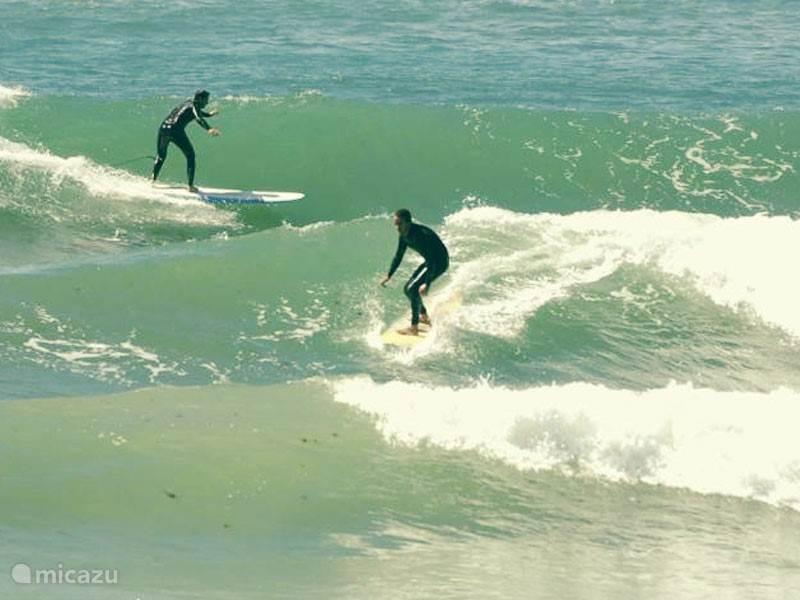 Baleal surfing