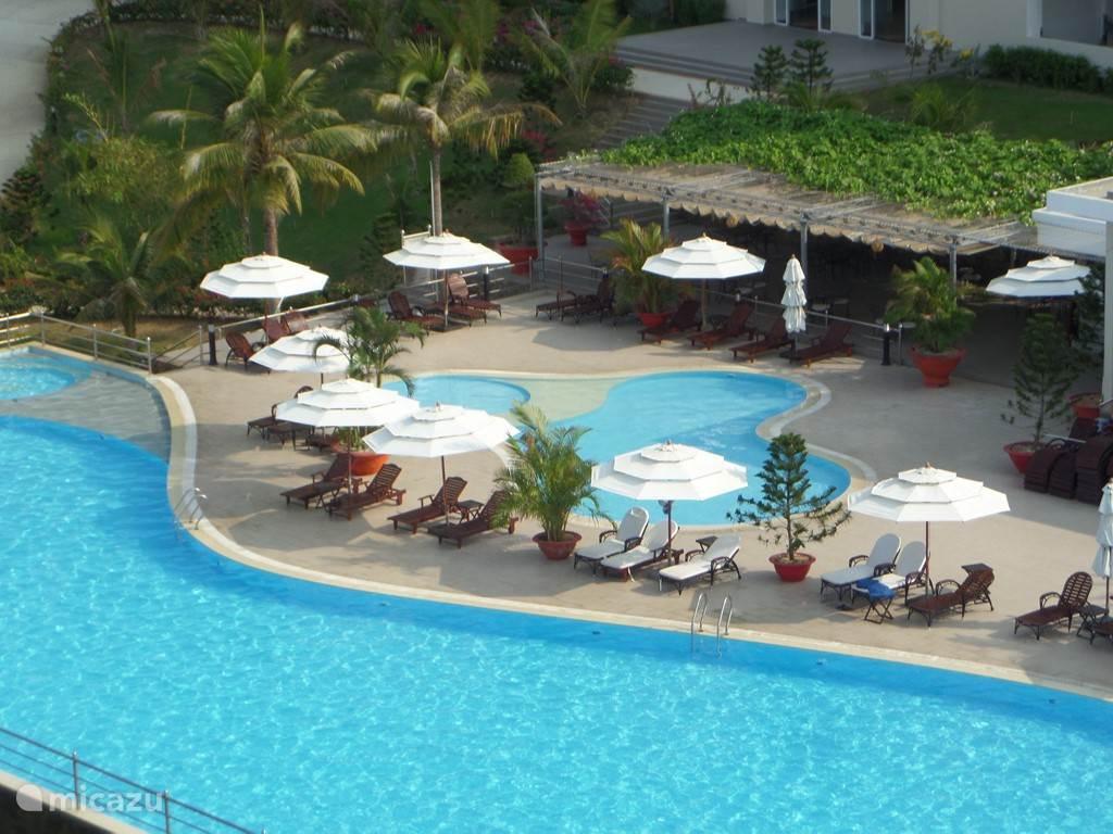 Vakantiehuis Vietnam, Zuid-Vietnam, Mui Ne Appartement Ocean Vista, in de 7e Hemel