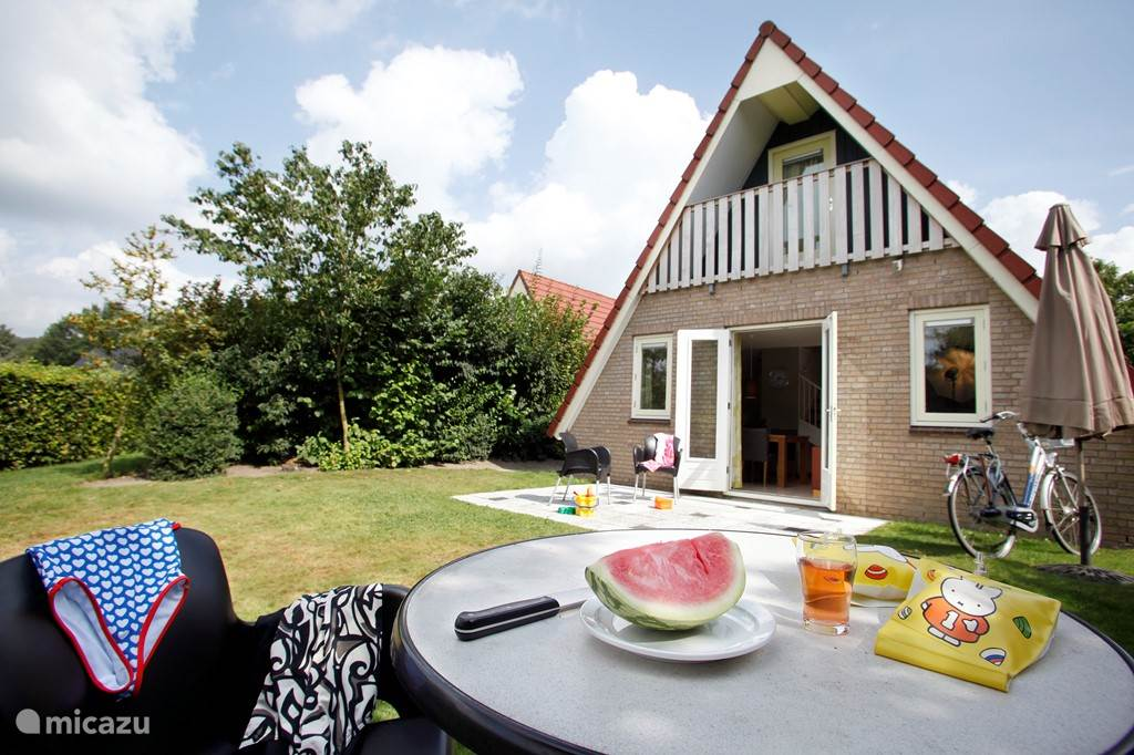 Tuin 6 persoons bungalow