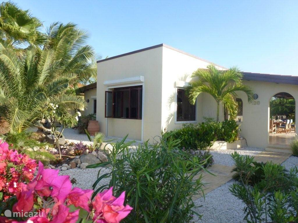 Enjoy the privacy and luxury of this beautiful villa, just a mile from the beach.