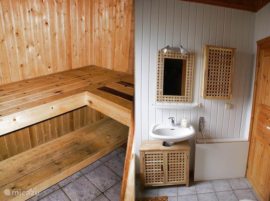Badkamer/Sauna