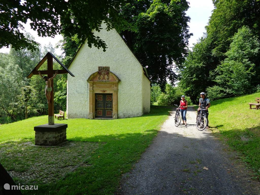 To do with the e-bike rental are great getaways, here at the Anne Chapel