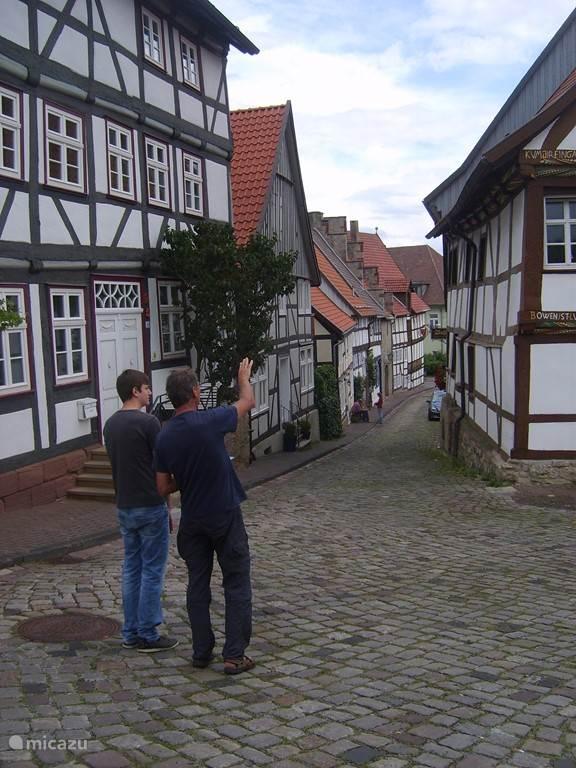 Straatje in Warburg