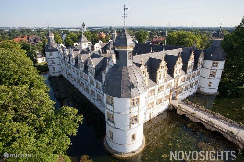 Schloss Neuhaus near Paderborn, summer festivals are also held here