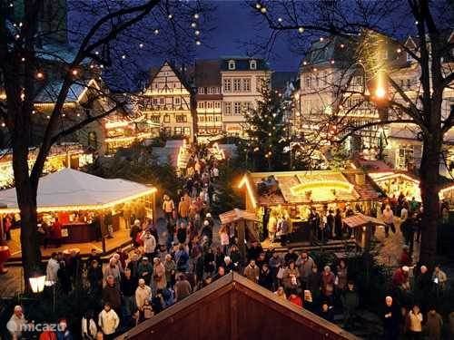 Christmas market in Paderborn