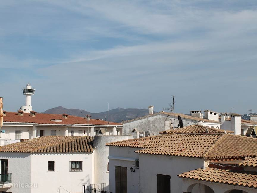 Uitzicht vanaf balkon