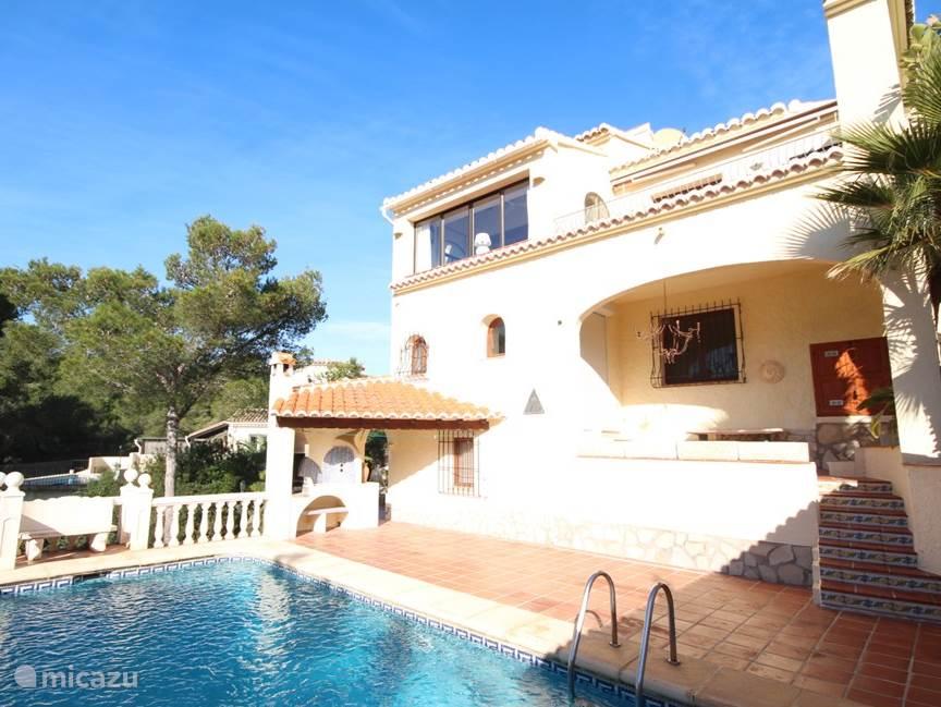 Vakantiehuis Spanje, Costa Blanca, Javea - villa Casa Michelle