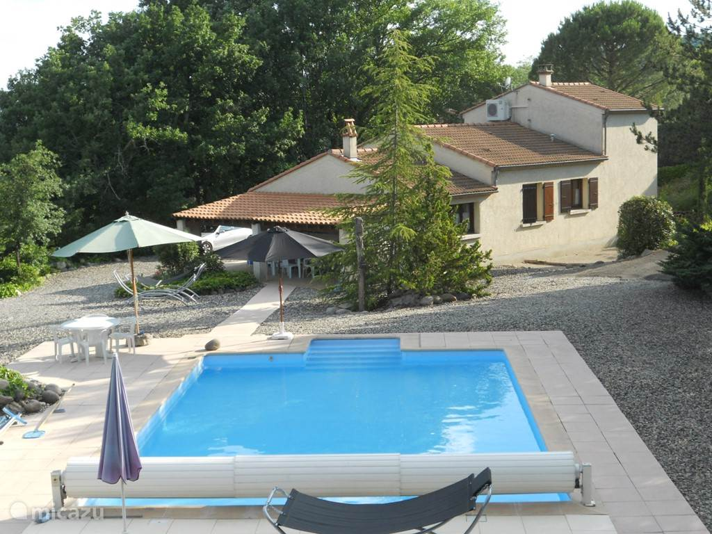 Vacation rental France, Ardèche, Vogue Gare - villa Villa Rive D'Ardeche