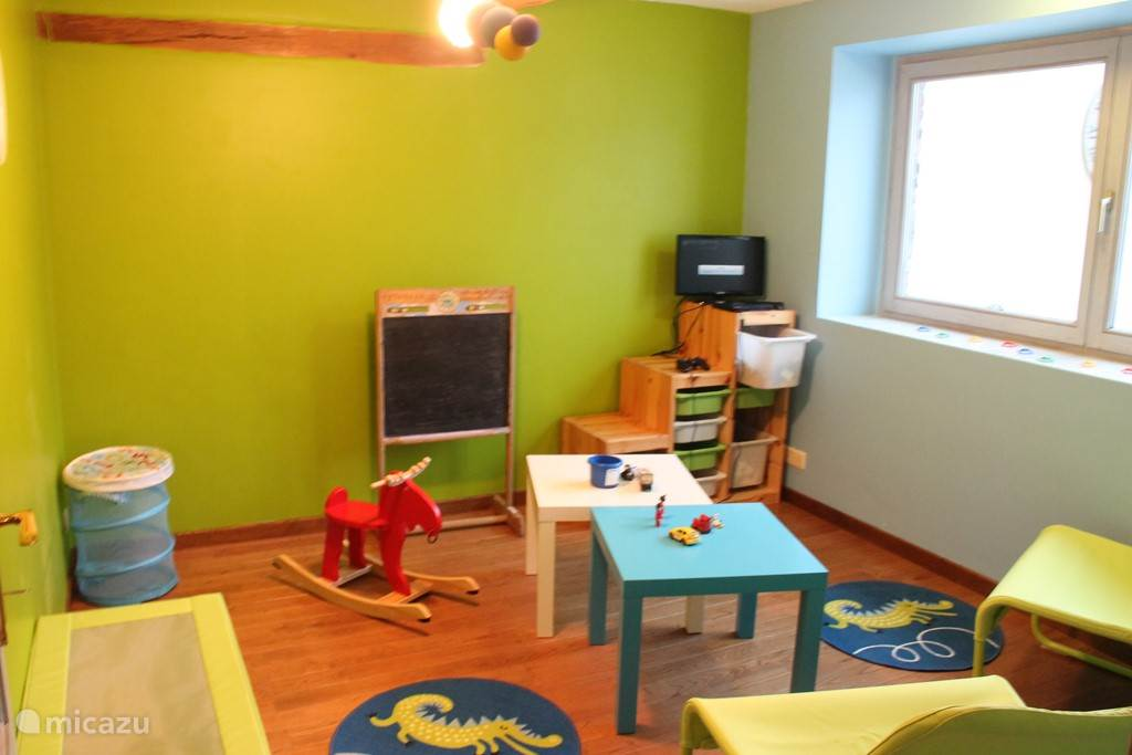 The playroom for the toddlers