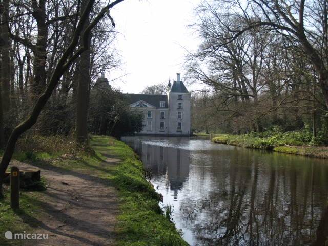 Het bos rond het Huys te Warmont, ook een prachtige plek om te wandelen, binnen de grenzen van het dorp.
