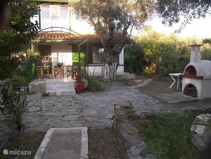 Vakantiehuis Griekenland, Evia, Chronia Vakantiehuis Het huis van Petra