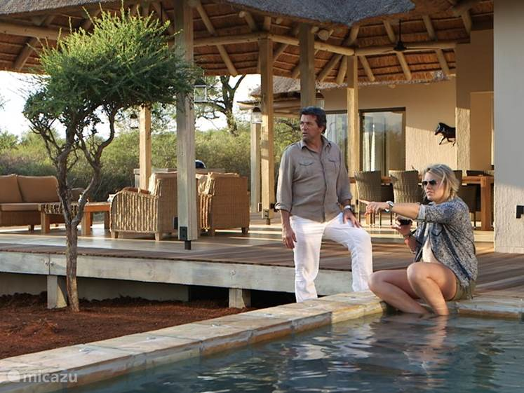 Vakantiehuis Zuid-Afrika, Limpopo, Hoedspruit villa Bushman's Safari Lodge