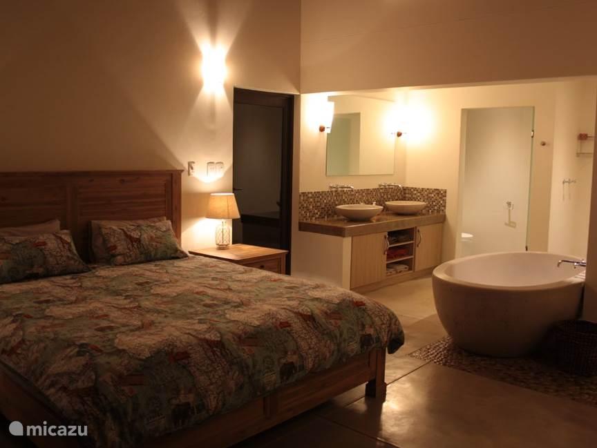 Master slaapkamer met ensuite badkamer